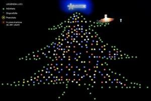 Tutte le luci dell'Albero sono state adottate