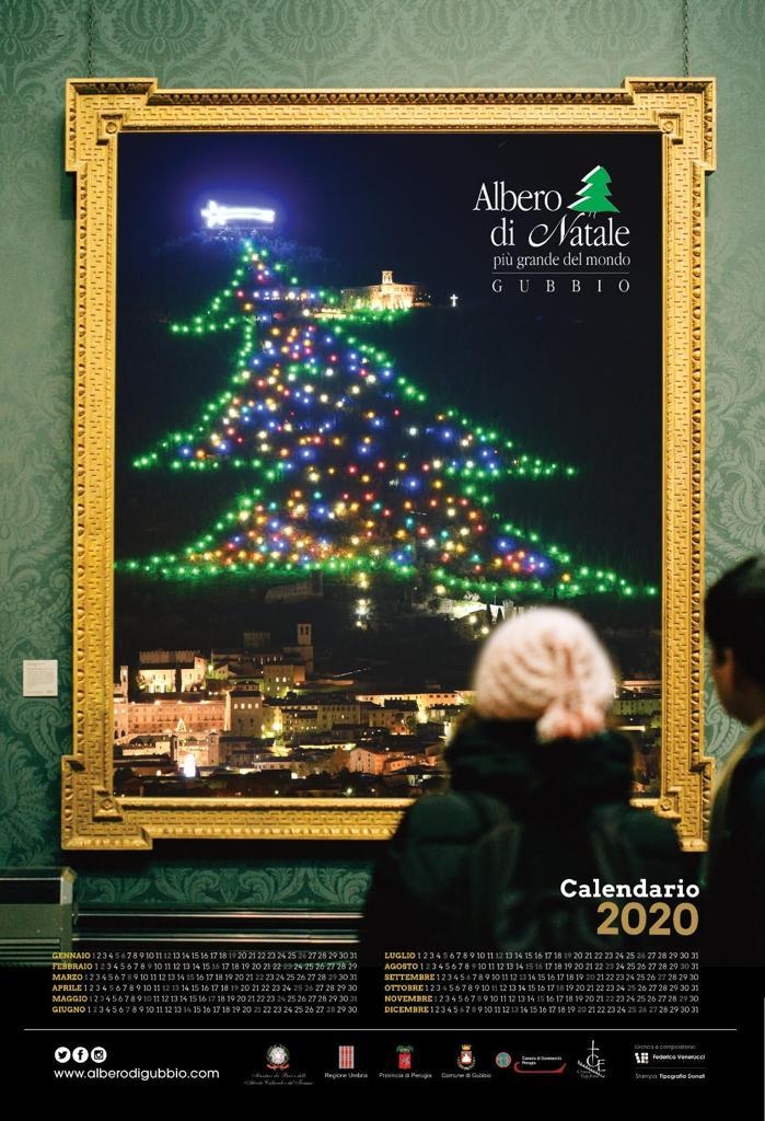Arriva il calendario 2020 dell'Albero di Natale più Grande del Mondo