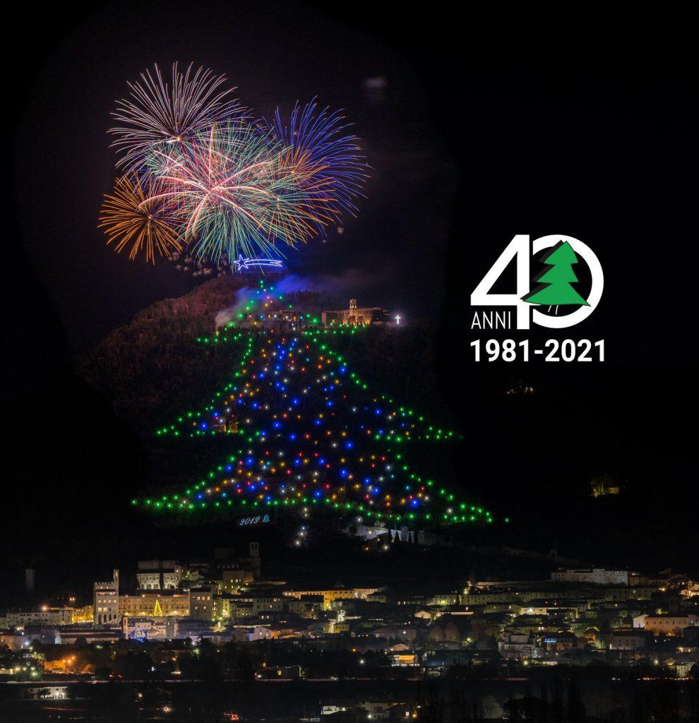 """Pronto il calendario 2021 dell'Albero di Natale più Grande del Mondo. Nuovo look per il sito, al via """"Adotta una luce"""""""